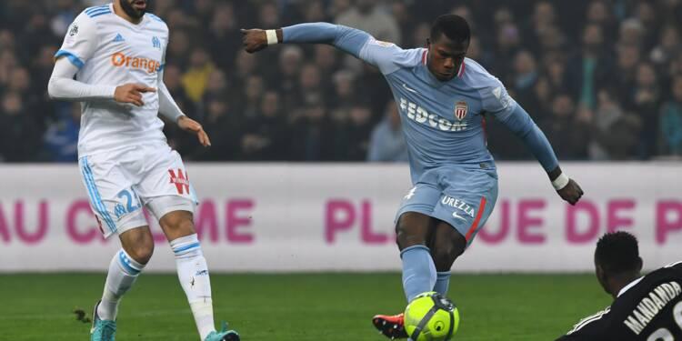 Ligue 1: Marseille et Monaco régalent, mais ne profitent pas