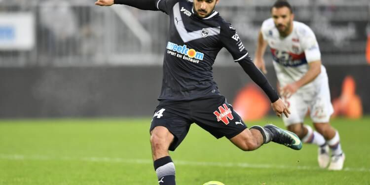 Ligue 1: Lyon retombe de son nuage à Bordeaux