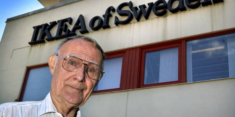 Energique et parcimonieux, Ingvar Kamprad, fondateur de l'empire Ikea, est mort