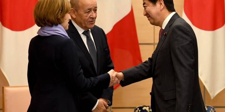 """Le Royaume-Uni dans l'UE """"c'est fini"""", dit Le Drian aux entreprises japonaises"""