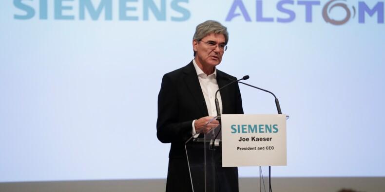 """Mariage Alstom-Siemens : plainte contre l'Etat, accusé de """"négligence"""""""