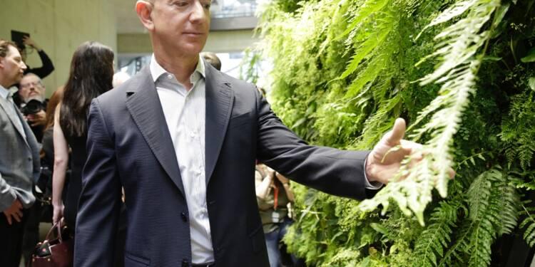Jeff Bezos, patron d'Amazon et homme le plus riche du monde