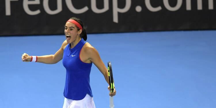 Fed Cup: Garcia non retenue pour France-Belgique
