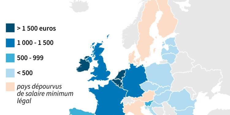 Salaire minimum: un pilier de l'Europe sociale difficile à construire