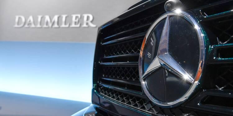 Daimler signe une année record mais ternie par les scandales