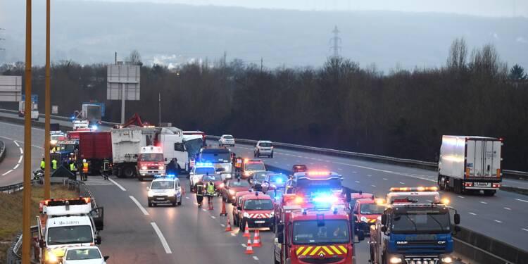 Morts sur les routes: la courbe s'est inversée en 2017