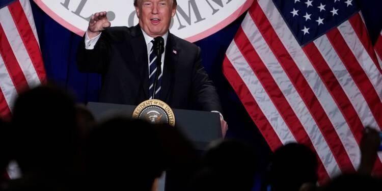 Trump accuse le FBI d'avoir politisé les enquêtes en faveur des démocrates
