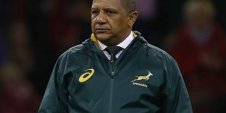 Rugby: Coetzee quitte son poste de sélectionneur de l'Afrique du Sud