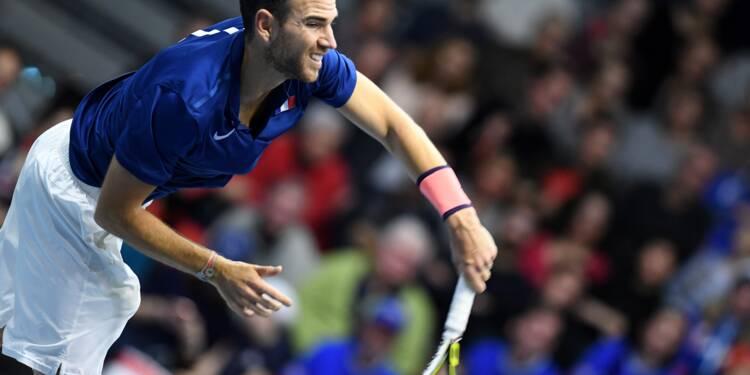 Coupe Davis: baptême manqué pour Mannarino