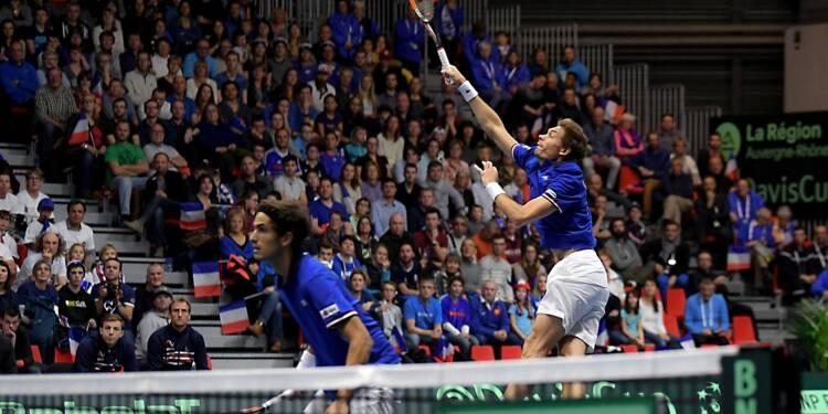 Coupe Davis: Herbert et Mahut, les retrouvailles gagnantes