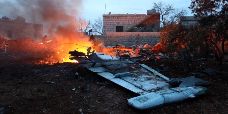 Syrie: un avion russe abattu par un groupe jihadiste, le pilote tué