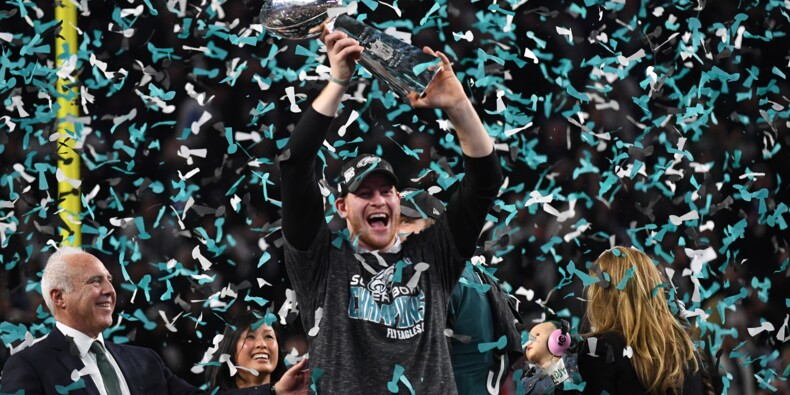 Super Bowl: exploit des Eagles, vainqueurs des Patriots, ultra-favoris