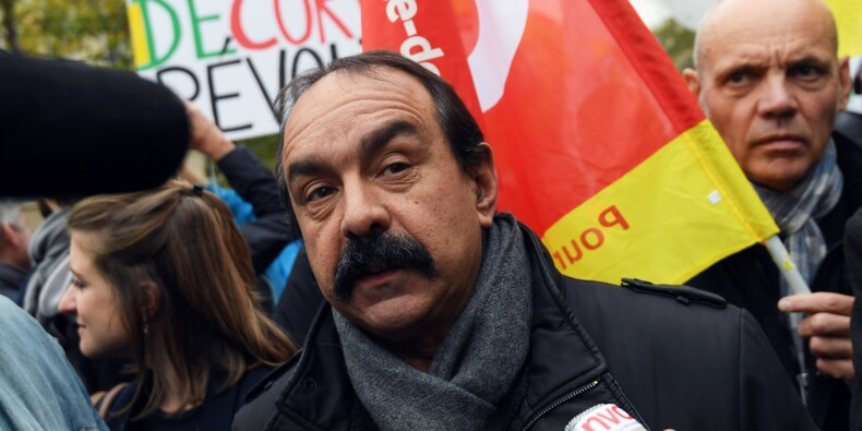 """""""Manifestation nationale"""" des cheminots le 22 mars, selon Martinez"""