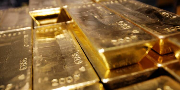 La demande d'or des investisseurs a reculé en 2017