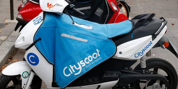 Scooters en libre service: la RATP entre au capital de Cityscoot