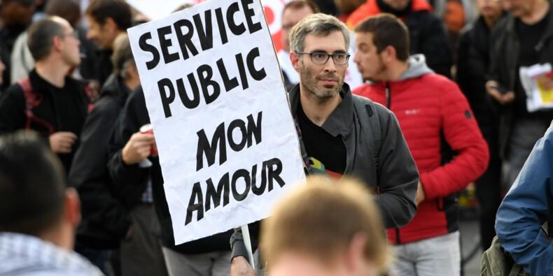 """Sept syndicats de fonctionnaires appellent à une """"journée de mobilisation"""" le 22 mars"""