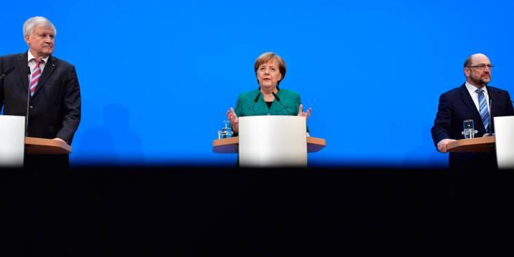 Au prix de lourds sacrifices, Merkel pose les bases d'un 4ème mandat