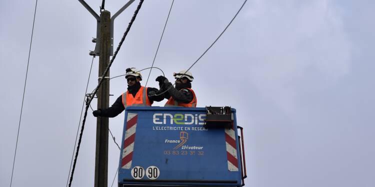 Enedis prévoit la suppression de 2.500 emplois d'ici 2021, selon les syndicats