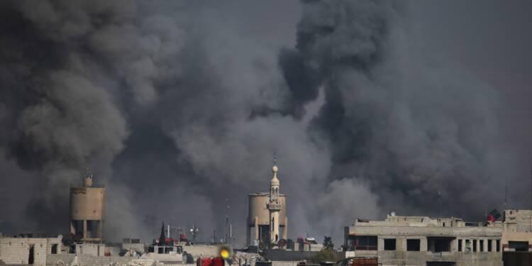 Syrie: 3e jour de raids meurtriers du régime sur un fief rebelle