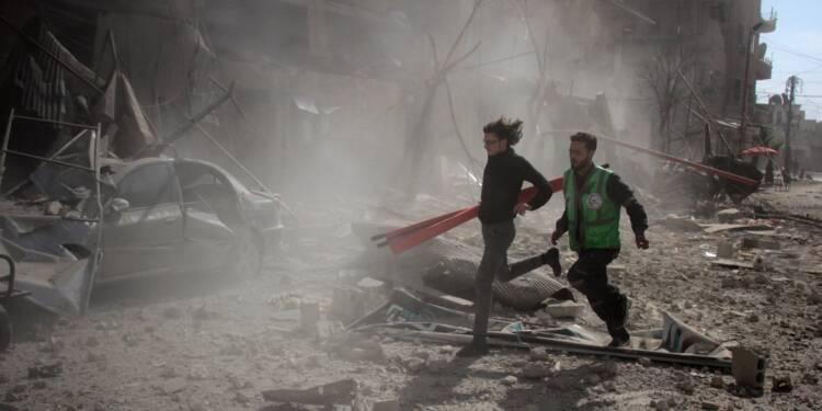 Syrie: plus de 100 membres des forces prorégime tués dans des frappes de la coalition