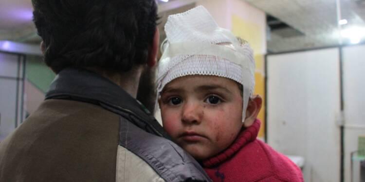 En Syrie, l'impuissance des secouristes et des médecins sous les raids dans la Ghouta