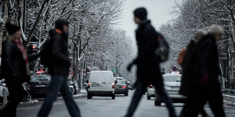 Après la neige, craintes sur le gel et le verglas en Ile-de-France