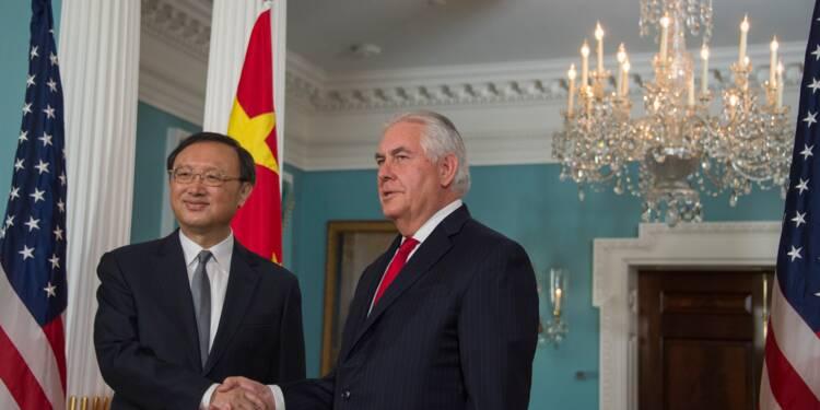 """Washington plaide auprès de Pékin pour une relation économique """"juste et équilibrée"""""""
