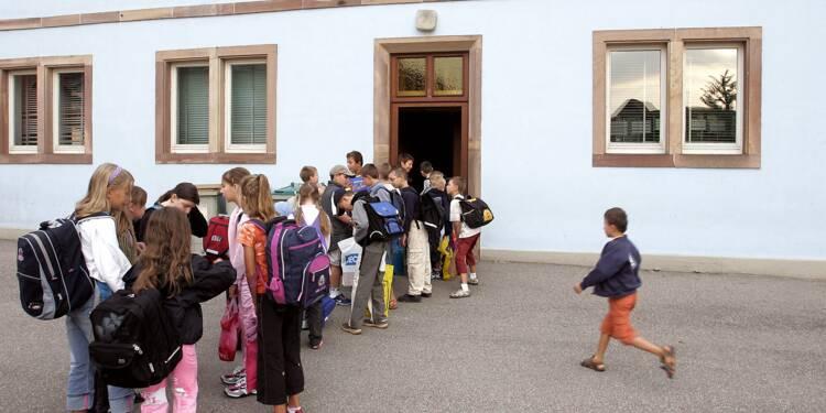 """Fermeture de classes: la fronde des écoles rurales qui s'estiment """"sacrifiées"""""""