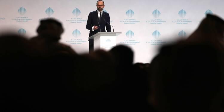 "A Dubaï, Edouard Philippe vante la ""grande transformation"" française"