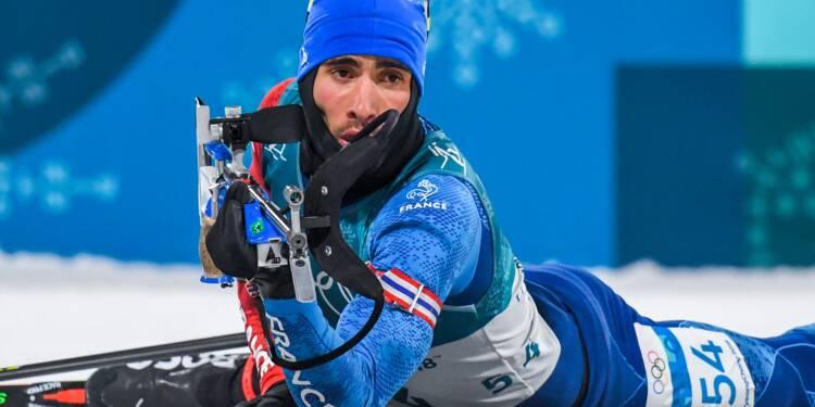 JO-2018: pas de médaille  pour le biathlète Martin Fourcade sur le sprint
