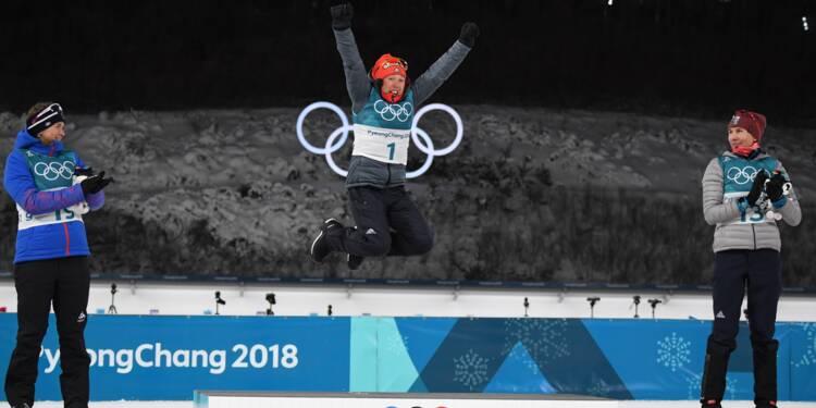 JO-2018: deuxième titre en biathlon pour Dahlmeier, Bescond en bronze