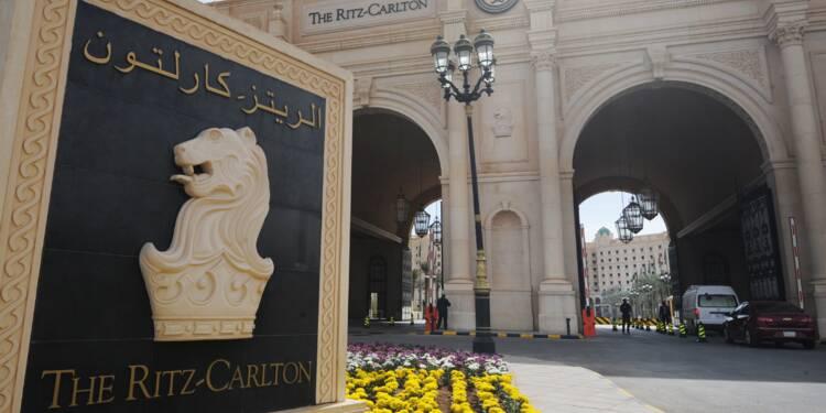"""Une nuit au Ritz-Carlton de Ryad, ancienne """"prison 5 étoiles"""""""