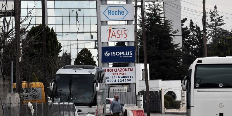 Affaire Novartis: Athènes commence à demander des comptes