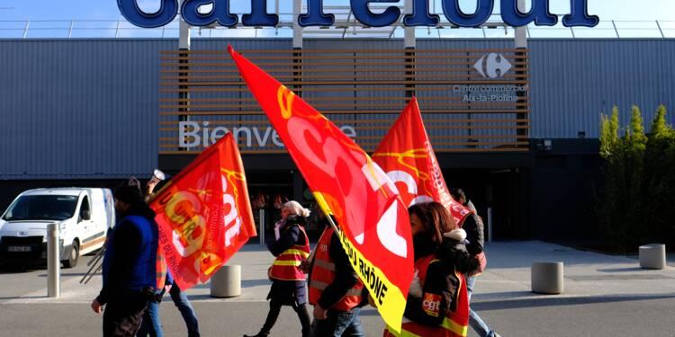 Ex-magasins Dia: Carrefour veut aller vite sur le plan social
