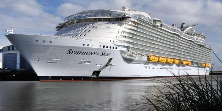 """Le paquebot géant """"Symphony of the Seas"""" livré le 23 mars à Royal Caribbean"""