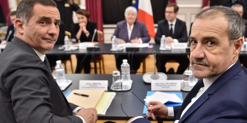 """Corse: une réunion """"constructive"""" à Paris malgré la garde à vue de Charles Pieri"""