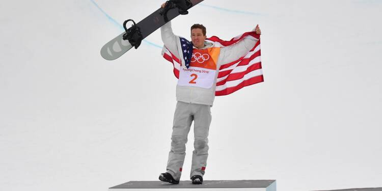JO-2018: l'Américain Shaun White champion olympique de halfpipe pour la 3e fois