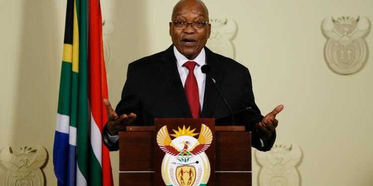 """Afrique du Sud: le président Jacob Zuma a annoncé sa démission """"immédiate"""""""