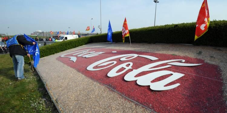 Coca Cola: des grèves bloquent des usines en France