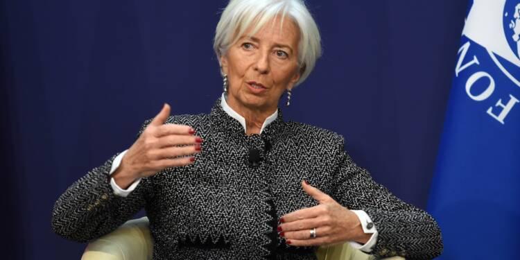 """France: Christine Lagarde (FMI) salue """"la qualité et l'ambition"""" des réformes"""