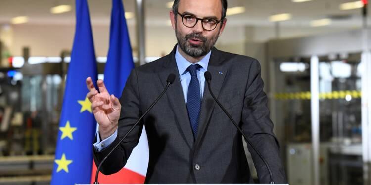 Philippe présente un plan pour protéger les entreprises stratégiques françaises
