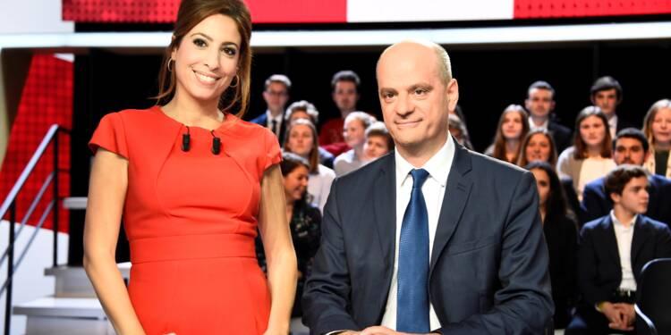 """Éducation: grand oral pour Blanquer, devenu une """"pièce maîtresse"""" du gouvernement"""