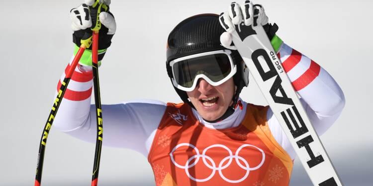 JO-2018: l'Autrichien Matthias Mayer met fin au règne norvégien en Super-G