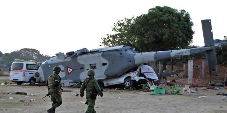 Mexique: 13 morts dans l'accident d'hélicoptère d'un ministre