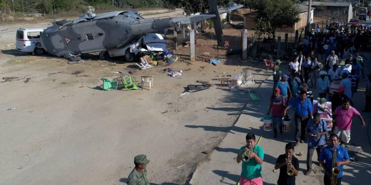 Séisme au Mexique: un village sous le choc après l'accident d'hélicoptère