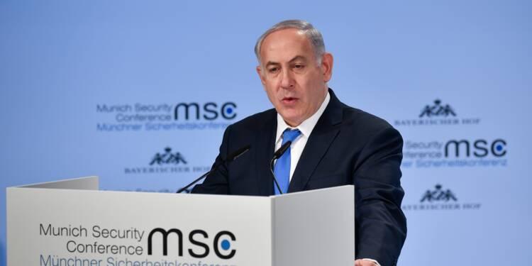 """Netanyahu à l'Iran: """"ne testez pas la détermination d'Israël"""""""