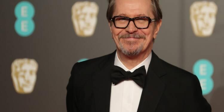 """Gary Oldman remporte le Bafta du meilleur acteur dans """"Les heures sombres"""""""