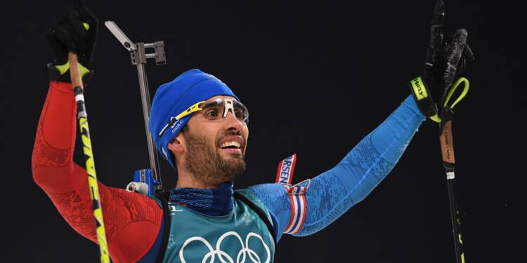 JO-2018: Fourcade devient le Français le plus titré de l'histoire des Jeux d'hiver