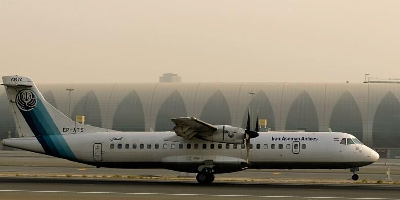 Plus de 60 morts dans le crash d'un avion en Iran