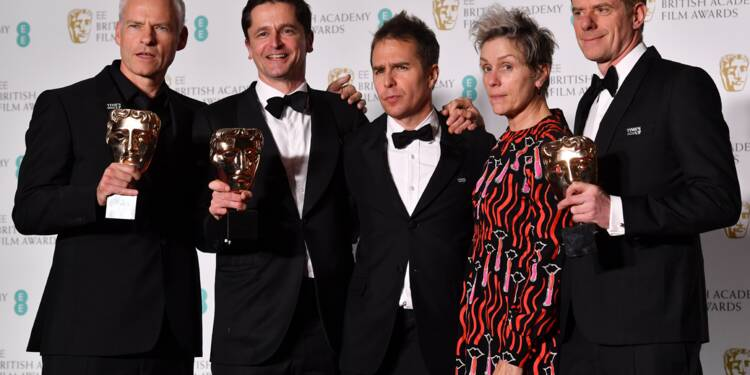 """Three Billboards"" grand vainqueur des Bafta Awards"
